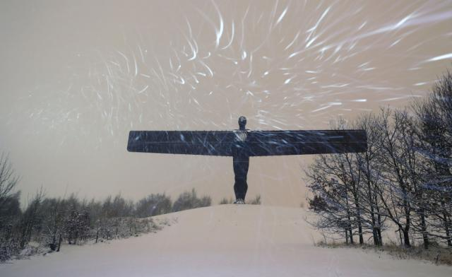 Angel of the North I Salute You