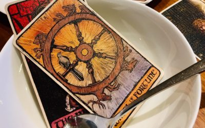 Tarot on a Plate: The Deconstructed Reading