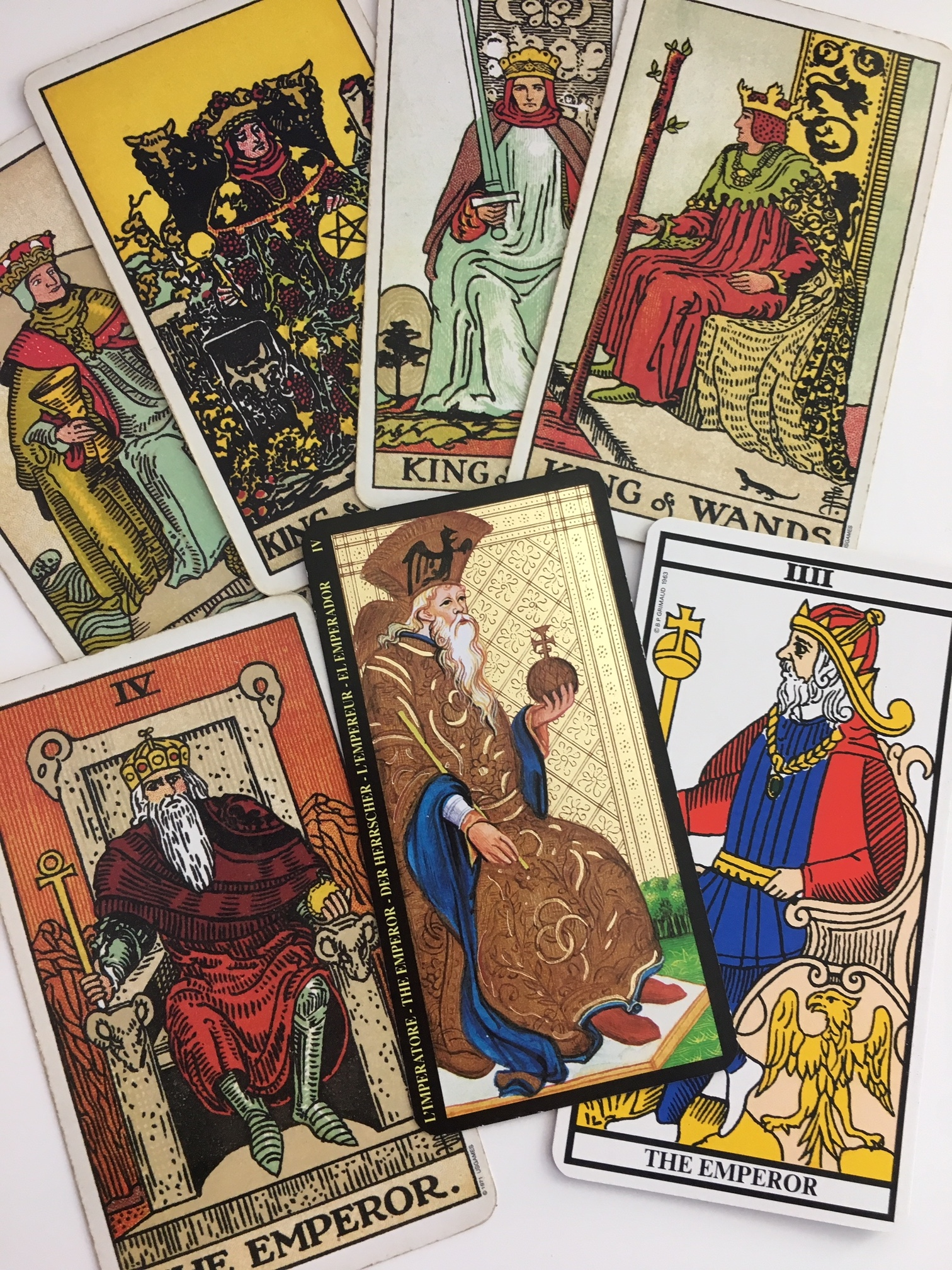 What's with the Tarot Kings? - Liz Dean